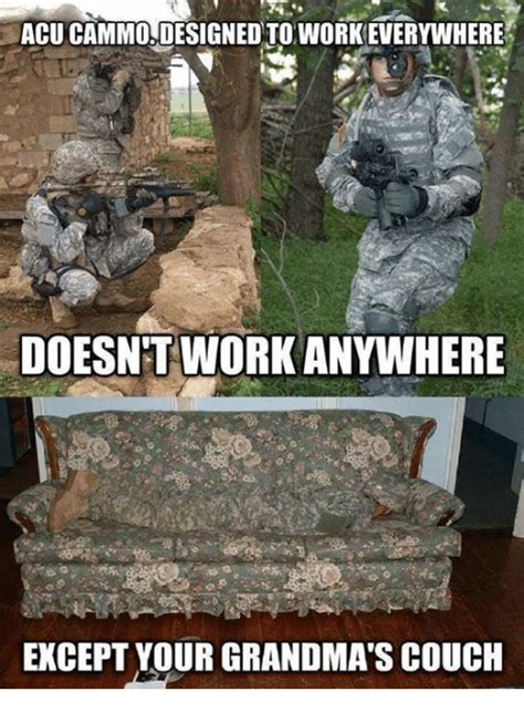 army acu couch acu cammo designed to workeverywhere doesnt workanywhere