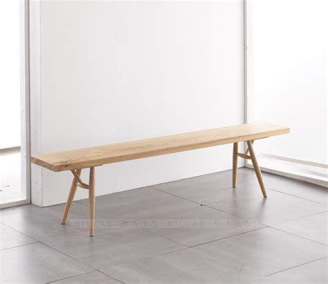Designer Chair Ash Wood Bench Bench Bench European Modern Minimalist Scandinavian