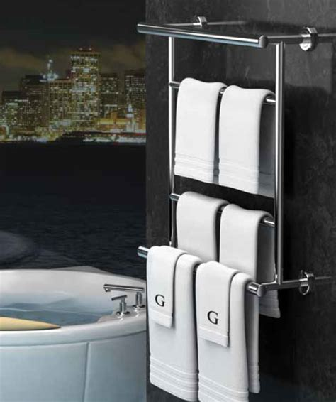 hotel bathroom towel shelf gatco latitude wall mount hotel towel valet