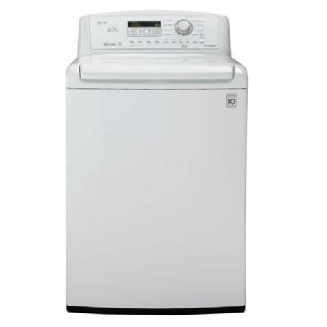 lg electronics 4 5 cu ft high efficiency top load washer