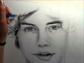 harry styles drawing timelapse youtube