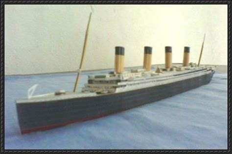 Papercraft Titanic - papercraftsquare new paper craft rms titanic free