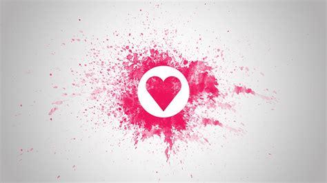love heart pink  hd wallpaper love wallpapers