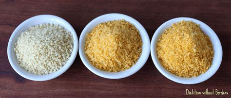 Putting gluten free couscous to the test - Dietitian ...