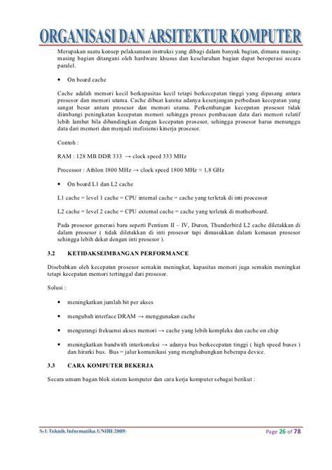 makalah membuat rangkaian paralel 34517583 makalah arsitektur komputer