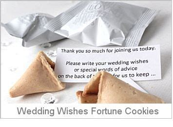 Wedding Wishes Uk by Wedding Fortune Cookies Wedding Favours