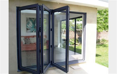 Folding Doors Exterior Patio Homeofficedecoration Different Types Of Exterior Folding Sliding Patio Doors