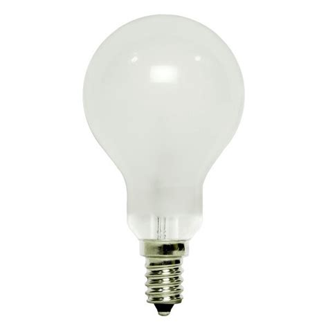 ceiling fan light bulb wattage bulbrite 104360 60 watt ceiling fan bulb