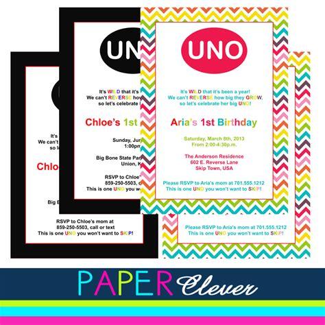 Uno Cards Template by Uno Birthday Invitation Template Birthday Invitations
