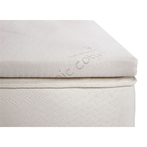 latex bed topper 2 quot organic latex topper sleepworks ny