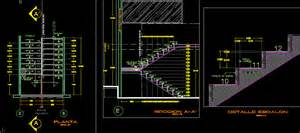 Stairs Details Dwg by Stair Details In Autocad Drawing Bibliocad