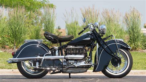 Motorrad Bremszylinder by 1942 Indian Four Cylinder Serial No 1 S32 Monterey 2016