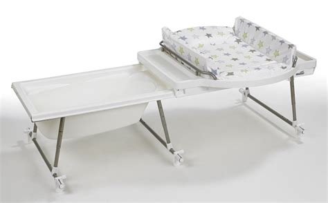 table a langer pour baignoire ensemble baignoire table langer aqualino geuther bambinou