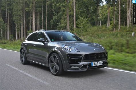 techart heats    porsche macan turbo automobile magazine