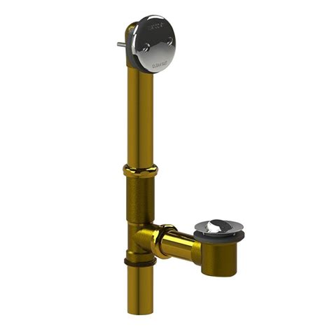bathtub overflow stopper watco innovator flex924 flexible bath waste with foot