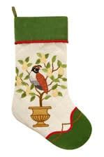 twenty five days of christmas minu stocking on a rope from crackabsral twelve days quilted 8 5 quot x 20 quot