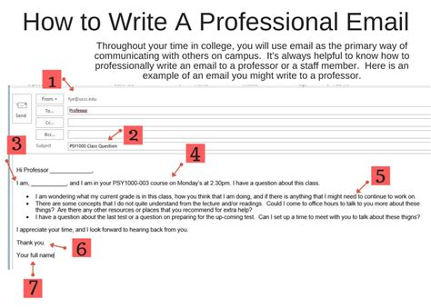 How To Compose A Professional Email Professional Emails Year Experience Transfer