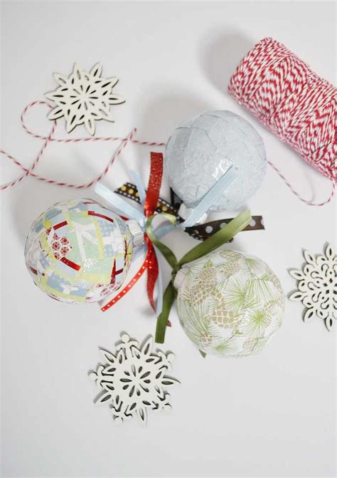 simple decoupage simple decoupage ornaments a tutorial
