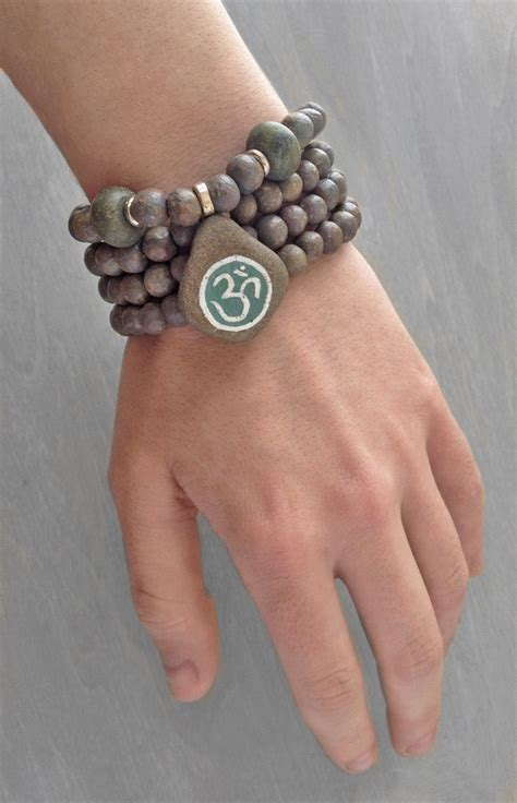 how to make a prayer bead bracelet clay mala buddhist rosary gray prayer bead