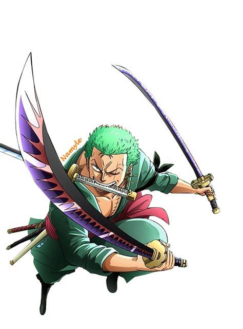Jaket Keren Anime Roronoa Zoro roronoa zoro render 4 by namyle on deviantart