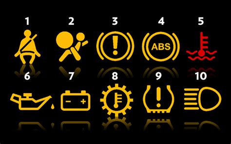 dashboard lights  basic guide service solutions didcot