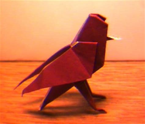 origami song an origami songbird
