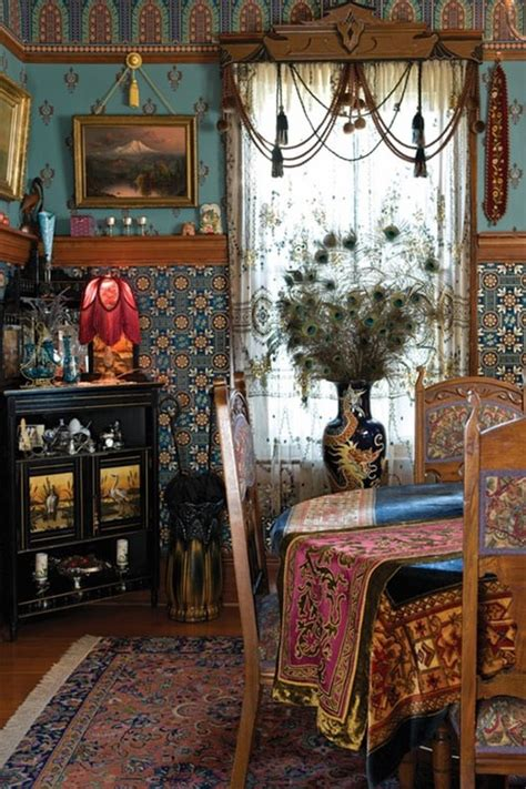 Bohemian Room Decor Fancy Boho Dining Rooms