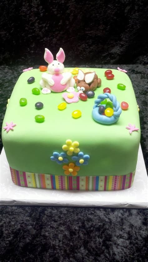 easter cake with handmade decorations cakes i made