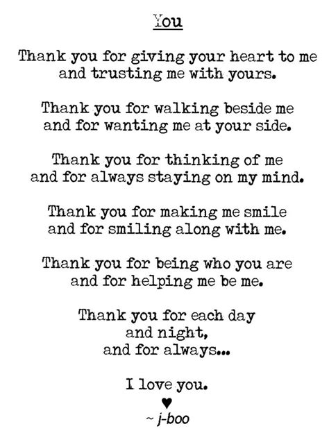 thanking letter quotes letter to say thank you for loving me letter of