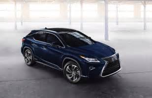 Of Lexus 2016 Lexus Rx 450h Hybrid Unveiled At New York Auto Show