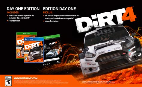 Ps4 Dirt 4 Day One Edition dirt 4 ebgames ca