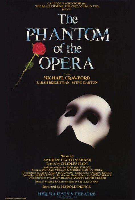 phantom of new york volume i and the crown volume 1 books affiche de la 233 die musicale le fant 244 me de l op 233 ra