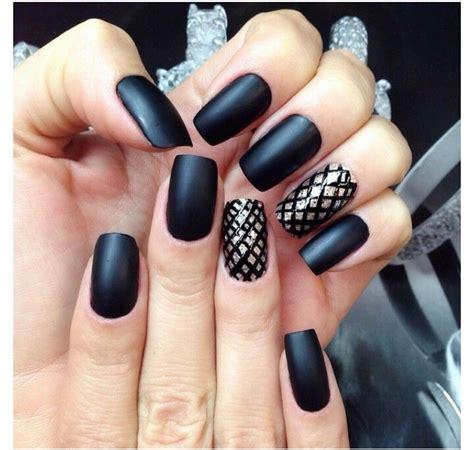 imagenes de uñas negras con azul tendencias para u 241 as primavera verano 2015