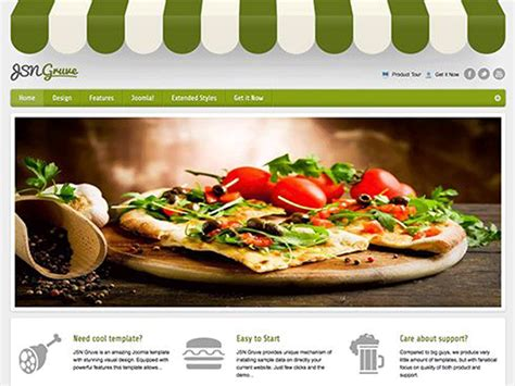 10 best joomla free templates for restaurant in october 2015