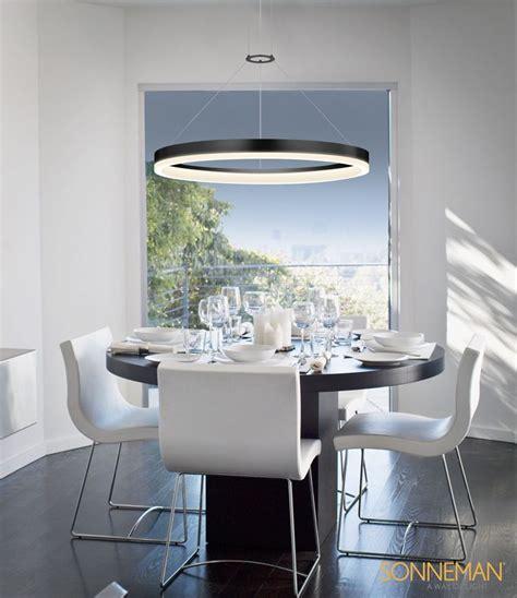 beta led lighting fixtures corona 32 quot led ring pendant sonneman a way of light s