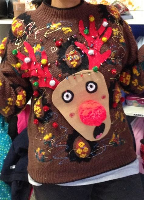 26 diy ugly christmas sweaters that prove you re awesome