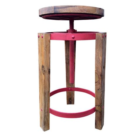 Upcycled Stool rustic upcycled wood stools recrate stool up cycle