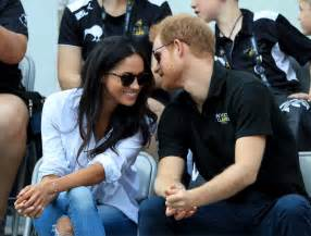 meghan markel and prince harry prince harry and meghan markle at invictus games 2017