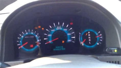 2010 ford fusion issues 2010 ford fusion instrument cluster issue