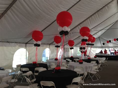 Tent Decorations dreamark events tent balloon decoration