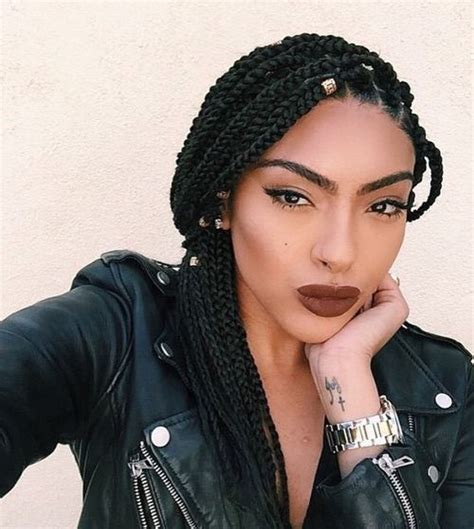 box braids lengths 50 exquisite box braids hairstyles to do yourself mid