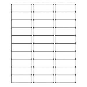 Quill Label Templates quill 1x2 5 8 quot white laser labels quill