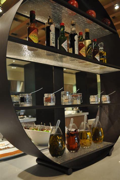 buffet table by glass studio for westin abu dhabi