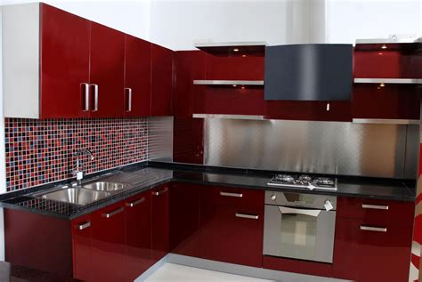 Modular Kitchen Designs India Stainless Steel Modular Kitchen