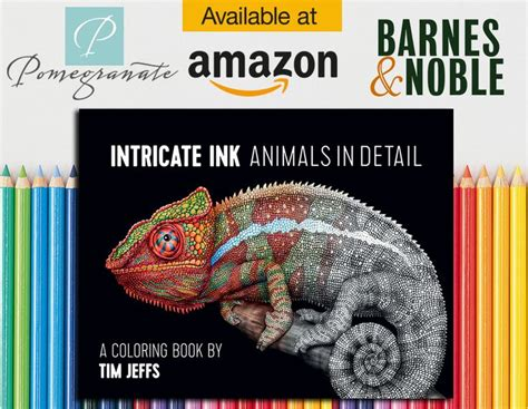 17 best intricate ink animals in detail coloring book by tim jeffs images on