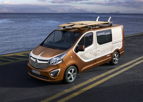opel vivaro opel vivaro surf concept to debut in frankfurt may
