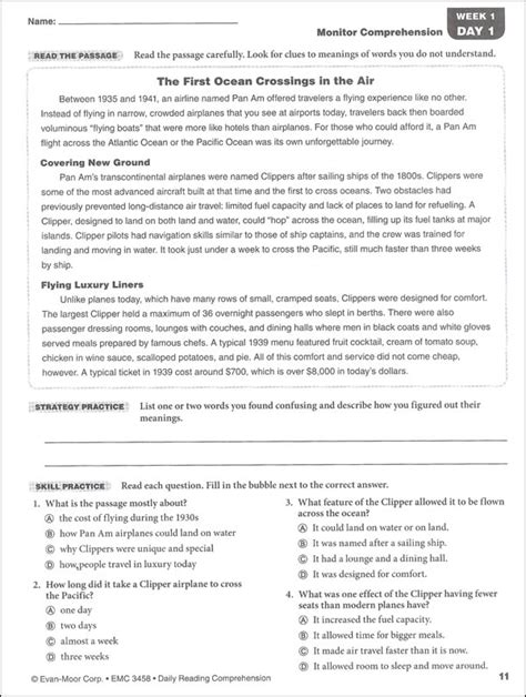 Grade 8 Comprehension Worksheets Free Printable by Year 8 Comprehension Worksheets Boxfirepress