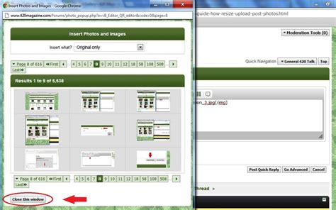 html tutorial photo gallery photo gallery guide how to resize upload post photos