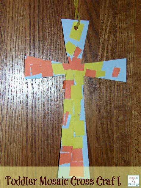 cross crafts for cross crafts for toddlers easter mosaics