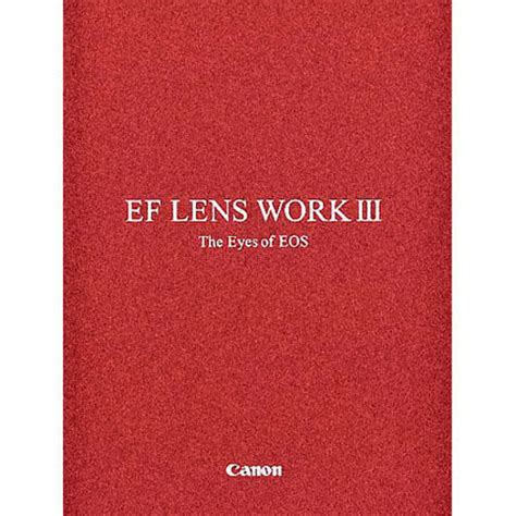 cannon books canon book ef lens work iii 0120w335 b h photo